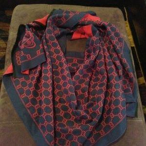 Gucci scarf wrap